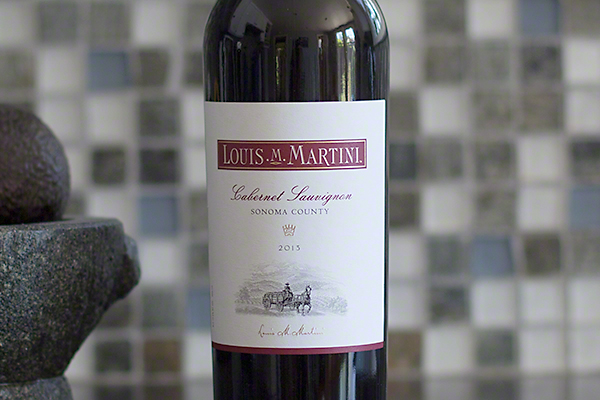 Louis M. Martini Sonoma Cabernet Sauvignon 2013