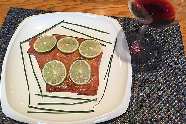 Pietro Barbecued Salmon
