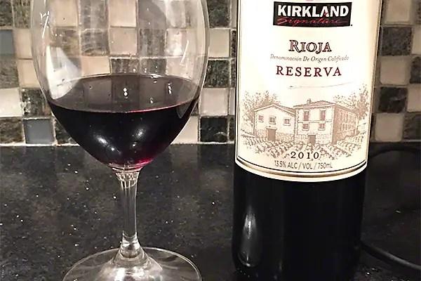 Kirkland Rioja Reserva 2010
