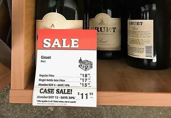 Cost Plus wine sale