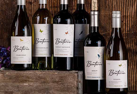 Bonterra lineup of wines