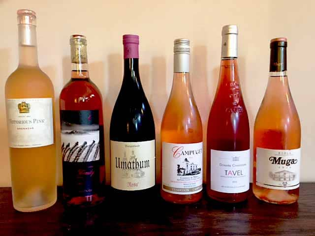 Rose wines are in!