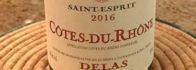 2016 Delas Saint Esprit