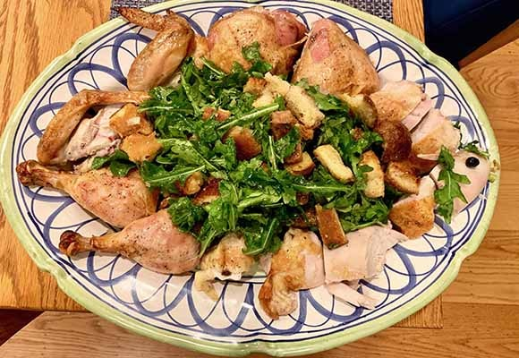 Zuni cafe oven-roasted chickent