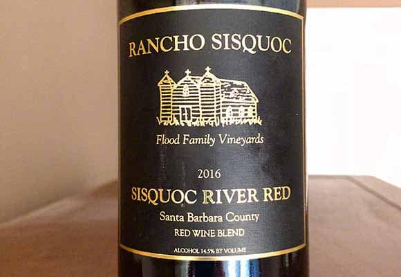 Trader Joe's River Red Rancho Sisquoc