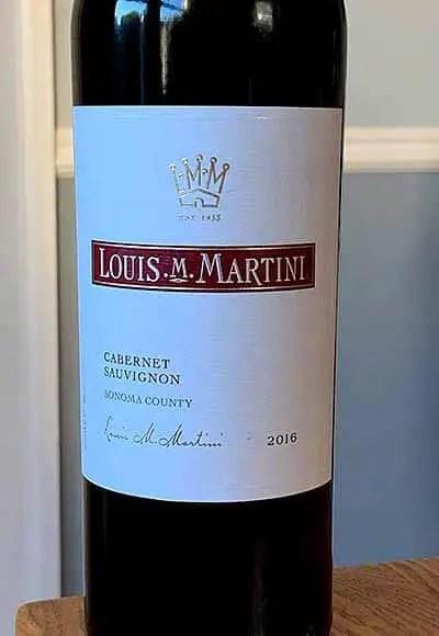 Louis Martini Sonoma Cabernet Sauvignon 2016