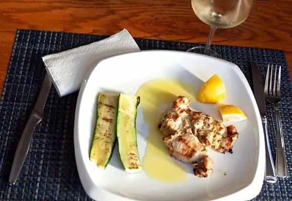 White Bordeaux food match