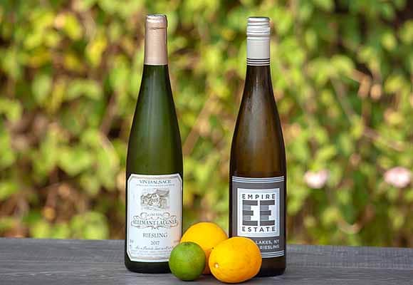 refreshing and fun tastiness of Dry Rieslings