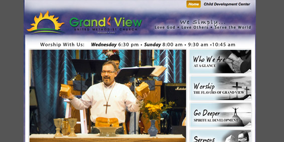 Using Church Photos Effectively on a Church Website