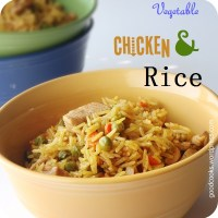 Easy Chicken and Vegetable Rice