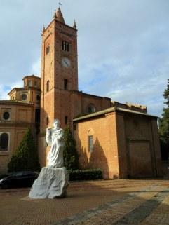 The Abbey of Monte Oliveto Maggiore