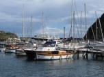 Lovely collection of boats in the marina.