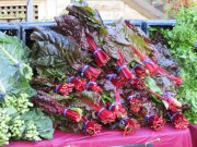 Swiss chard - hard to find in Italy. So was kale.