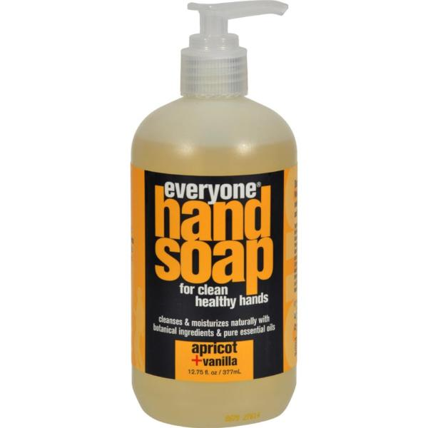 EO Products - Apricot And Vanilla Everyone Hand Soap ( 2 - 12.75 FZ) %count(alt)