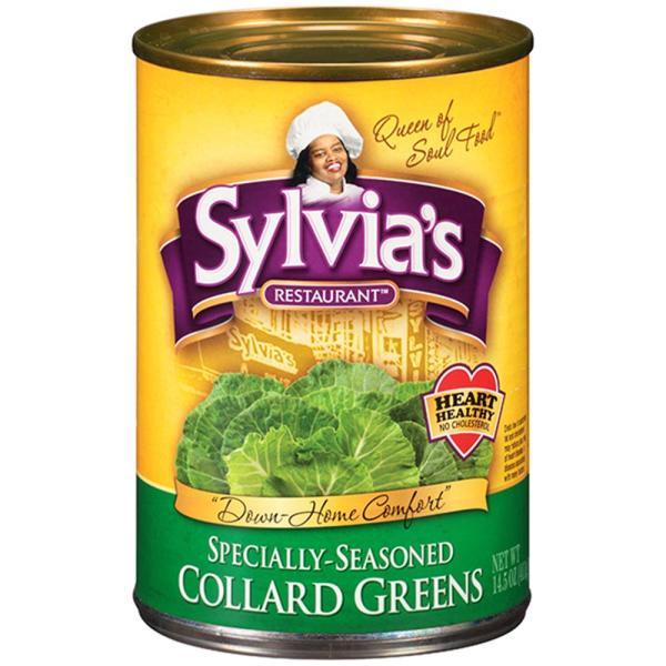 Sylvia's Soul Food - Collard Greens ( 3 - 14.5 oz cans) %count(alt)