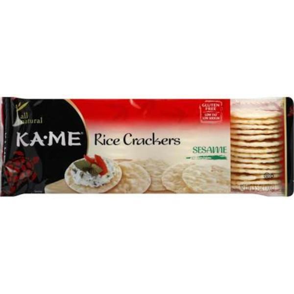 Ka'Me - Sesame Rice Crackers ( 3 - 3.5 OZ) %count(alt)