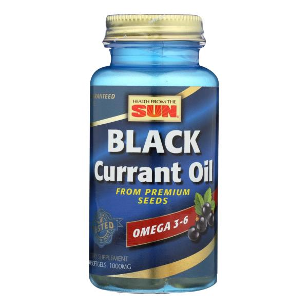 Health From the Sun Black Currant Oil - 1000 mg - 30 Softgels %count(alt)