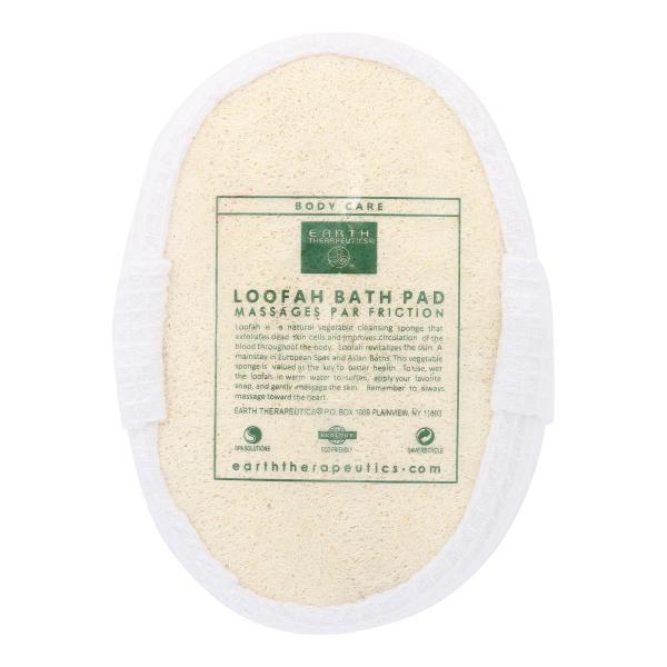 Earth Therapeutics Loofah Bath Pad - 1 Pad %count(alt)