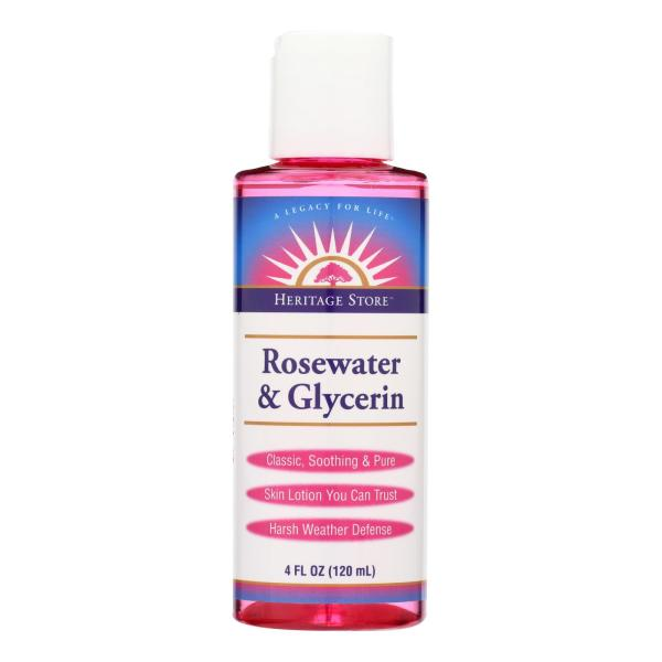Heritage Products Rosewater and Glycerin - 4 fl oz %count(alt)