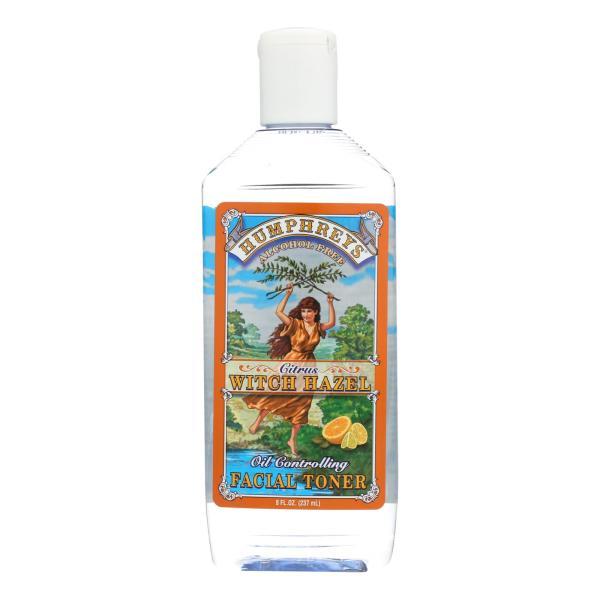 Humphrey's Homeopathic Remedy Witch Hazel Facial Toner Citrus - 8 fl oz %count(alt)
