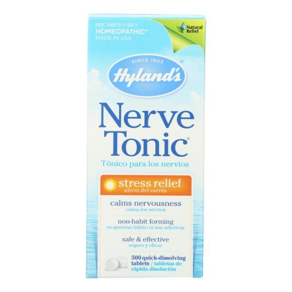 Hylands Homeopathic Nerve Tonic Tablets - 500 Tablets %count(alt)