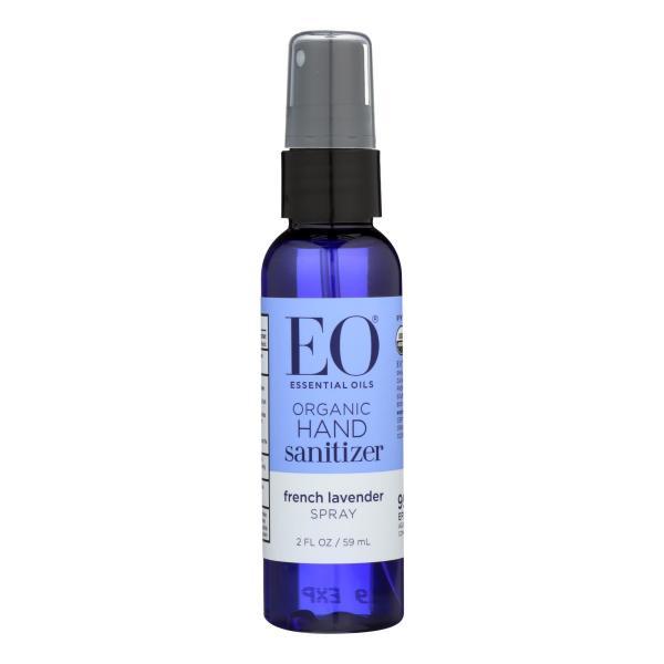 EO Products - Organic Hand Sanitizer Spray - Lavender - 2 fl oz - Case of 6 %count(alt)