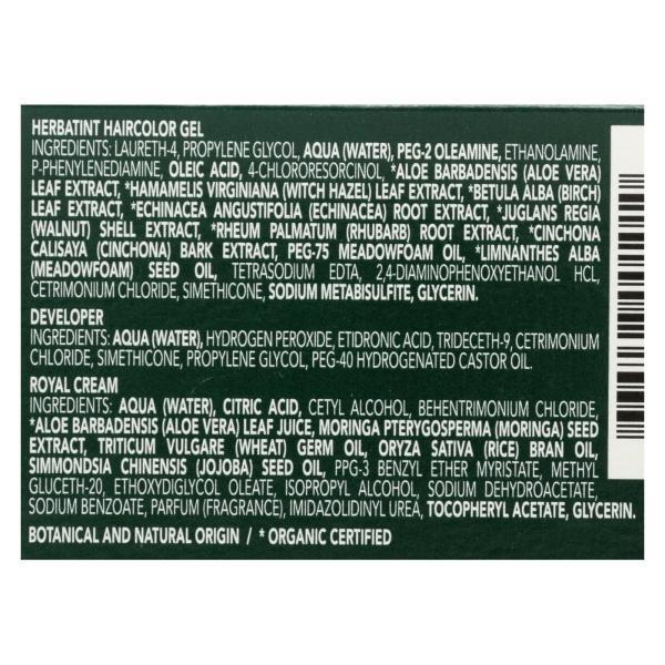 Herbatint Permanent Herbal Haircolour Gel 2N Brown - 135 ml %count(alt)