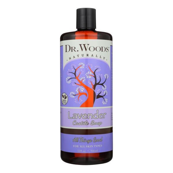 Dr. Woods Castile Soap Soothing Lavender - 32 fl oz %count(alt)