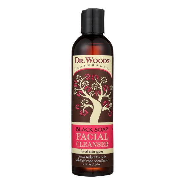 Dr. Woods Facial Cleanser Black Soap and Shea Butter - 8 fl oz %count(alt)