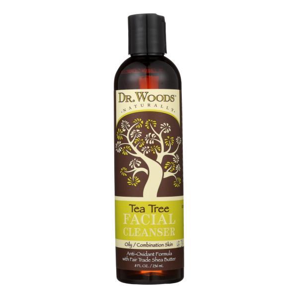 Dr. Woods Facial Cleanser - Tea Tree - 8 oz %count(alt)