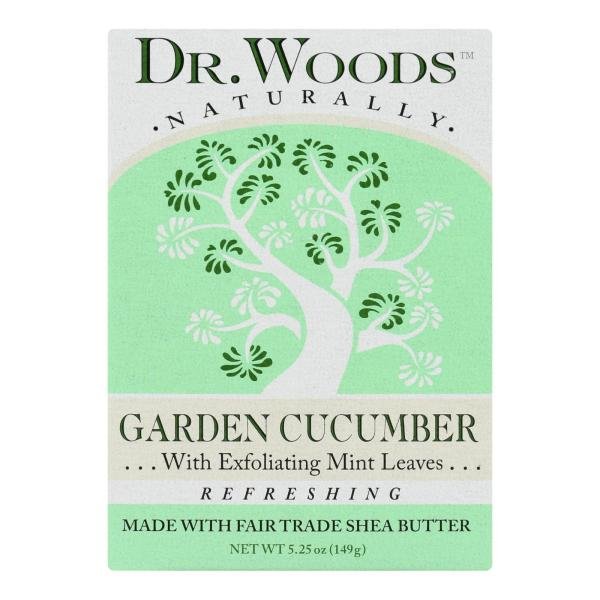 Dr. Woods Bar Soap Garden Cucumber - 5.25 oz %count(alt)