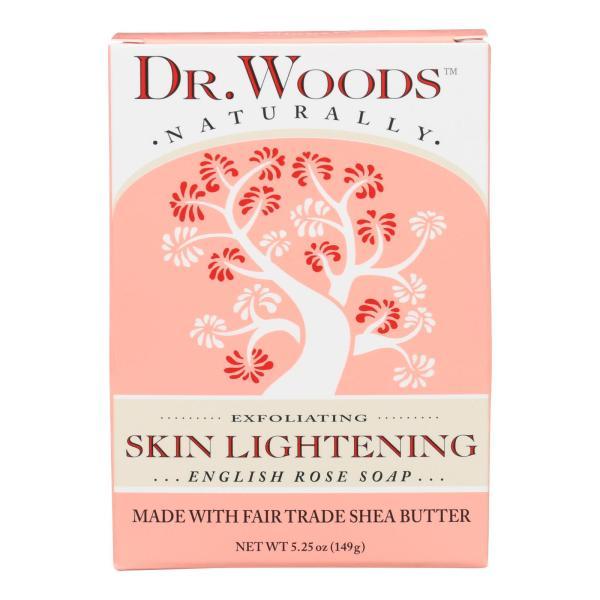 Dr. Woods Bar Soap Skin Lightening English Rose - 5.25 oz %count(alt)