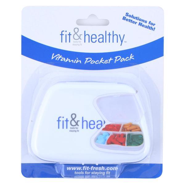 Fit and Healthy VitaMinder Vitamin Pocket Pack - 1 Case %count(alt)