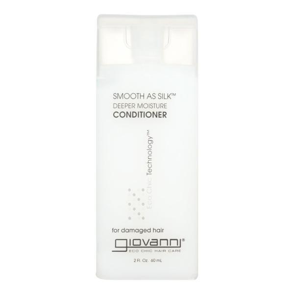Giovanni Smooth As Silk Deeper Moisture Conditioner - 2 fl oz - Case of 12 %count(alt)