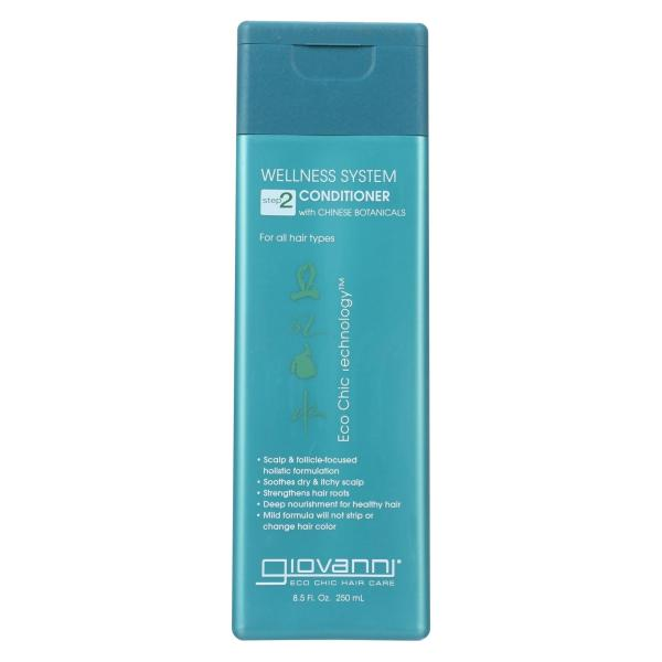 Giovanni Wellness System Step 2 Conditioner with Chinese Botanicals - 8.5 fl oz %count(alt)