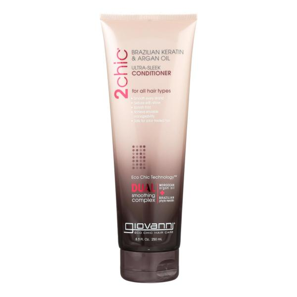 Giovanni 2chic Ultra-Sleek Conditioner with Brazilian Keratin and Argan Oil - 8.5 fl oz %count(alt)