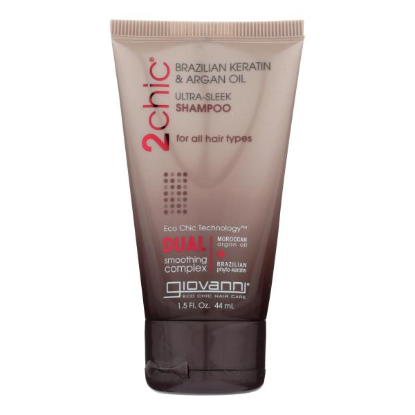 Giovanni Hair Care Products Shampoo - 2Chic Sleek - Travel Size - Case of 12 - 1.5 oz %count(alt)