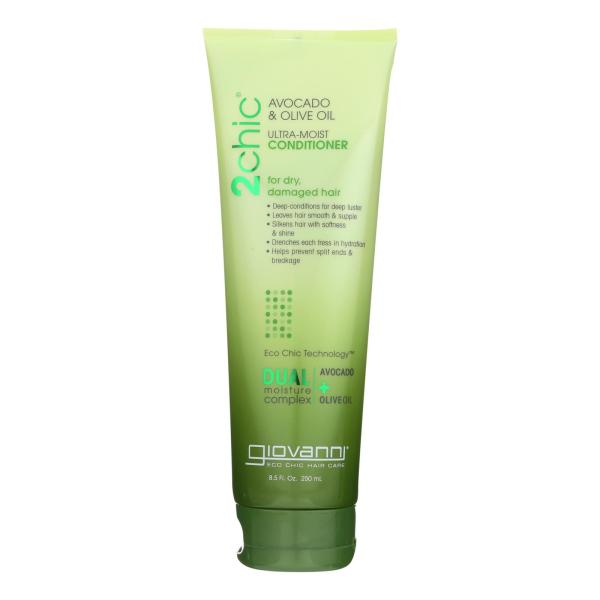 Giovanni Hair Care Products Conditioner - 2Chic Avocado and Olive Oil - 8.5 oz %count(alt)