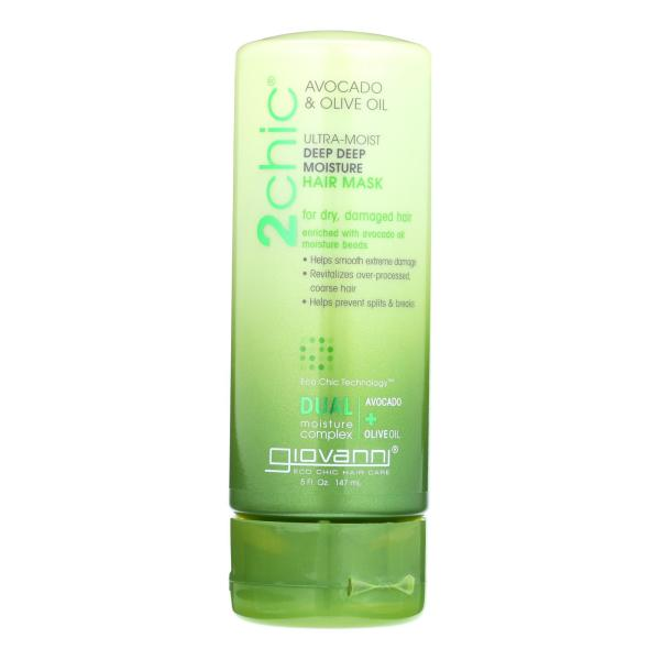 Giovanni Hair Care Products Hair Mask - 2Chic Avocado and Olive Oil - 5 oz %count(alt)
