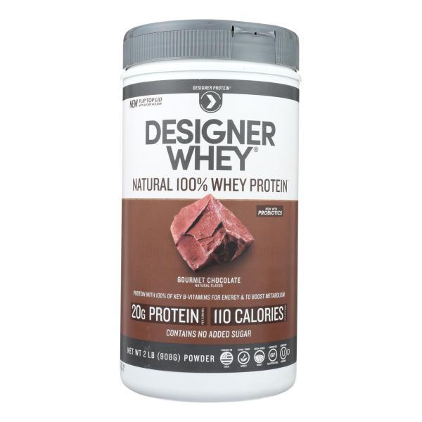 Designer Whey - Protein Powder - Chocolate - 2 lbs %count(alt)