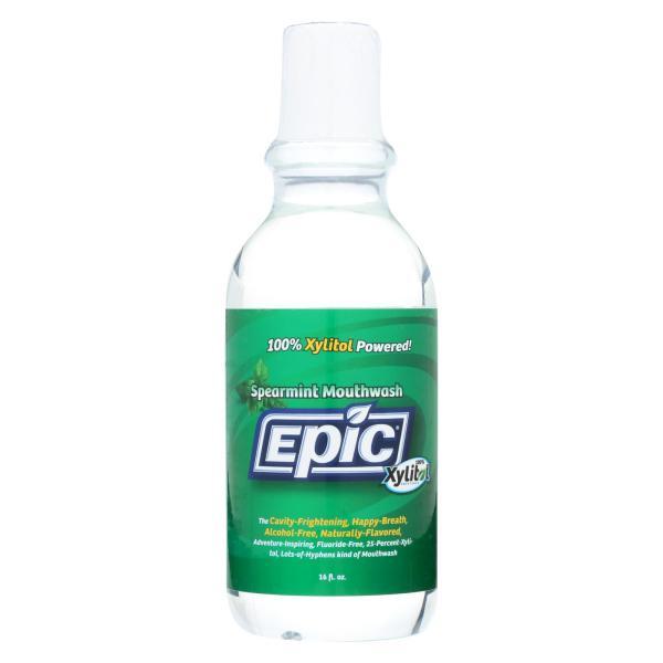 Epic Dental - Xylitol Mouthwash - Spearmint - 16 oz %count(alt)
