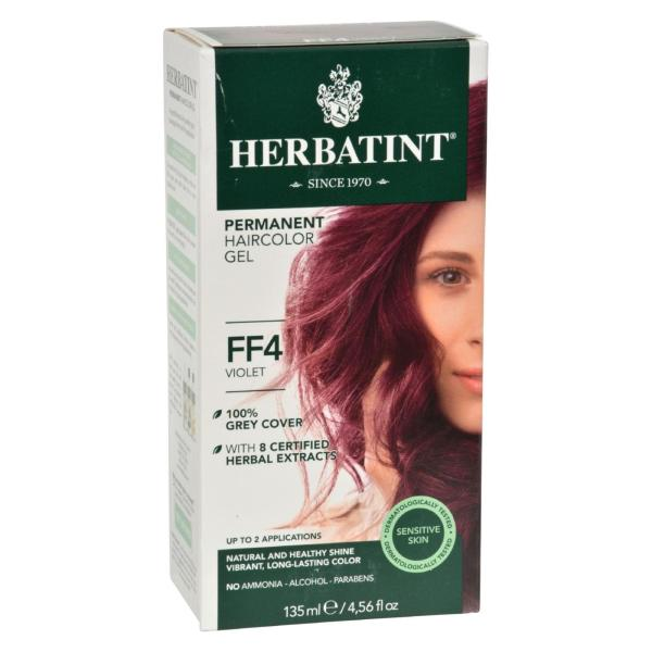 Herbatint Permanent Herbal Haircolour Gel FF4 Violet - 1 Kit %count(alt)