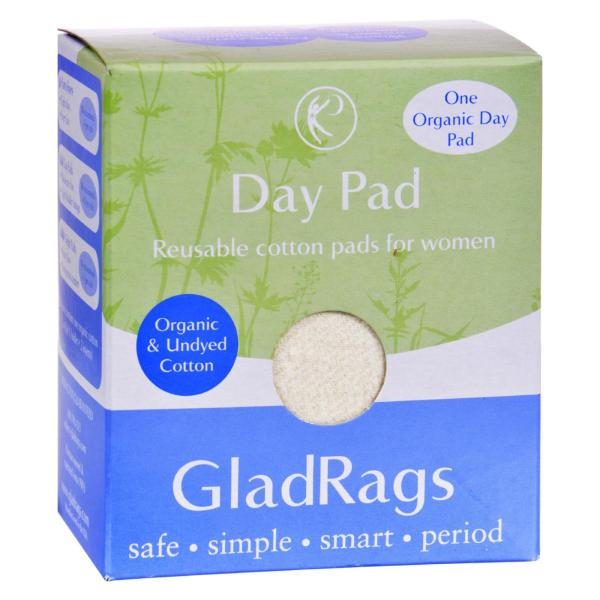 Gladrags Organic Undyed Day Pads - 1 Pack %count(alt)