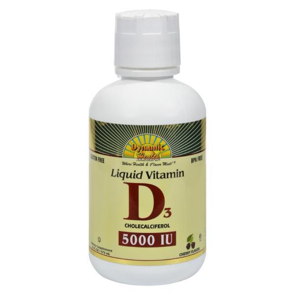 Dynamic Health Liquid Vitamin D3 Cherry - 16 fl oz %count(alt)