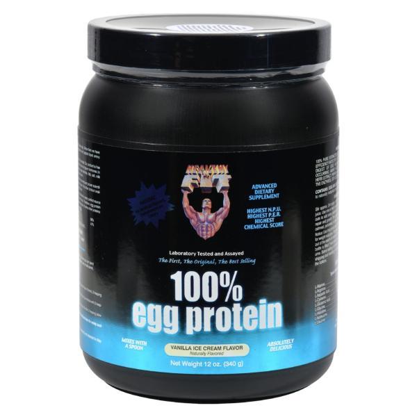 Healthy 'N Fit Nutritionals 100% Egg Protein Vanilla Ice Cream - 12 oz %count(alt)