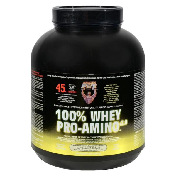 Healthy 'N Fit Nutritionals Whey Pro-Amino Vanilla Ice Cream - 5 lbs %count(alt)