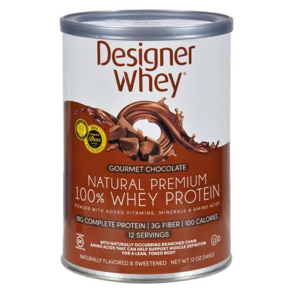 Designer Whey - Protein Powder - Chocolate - 12.7 oz %count(alt)