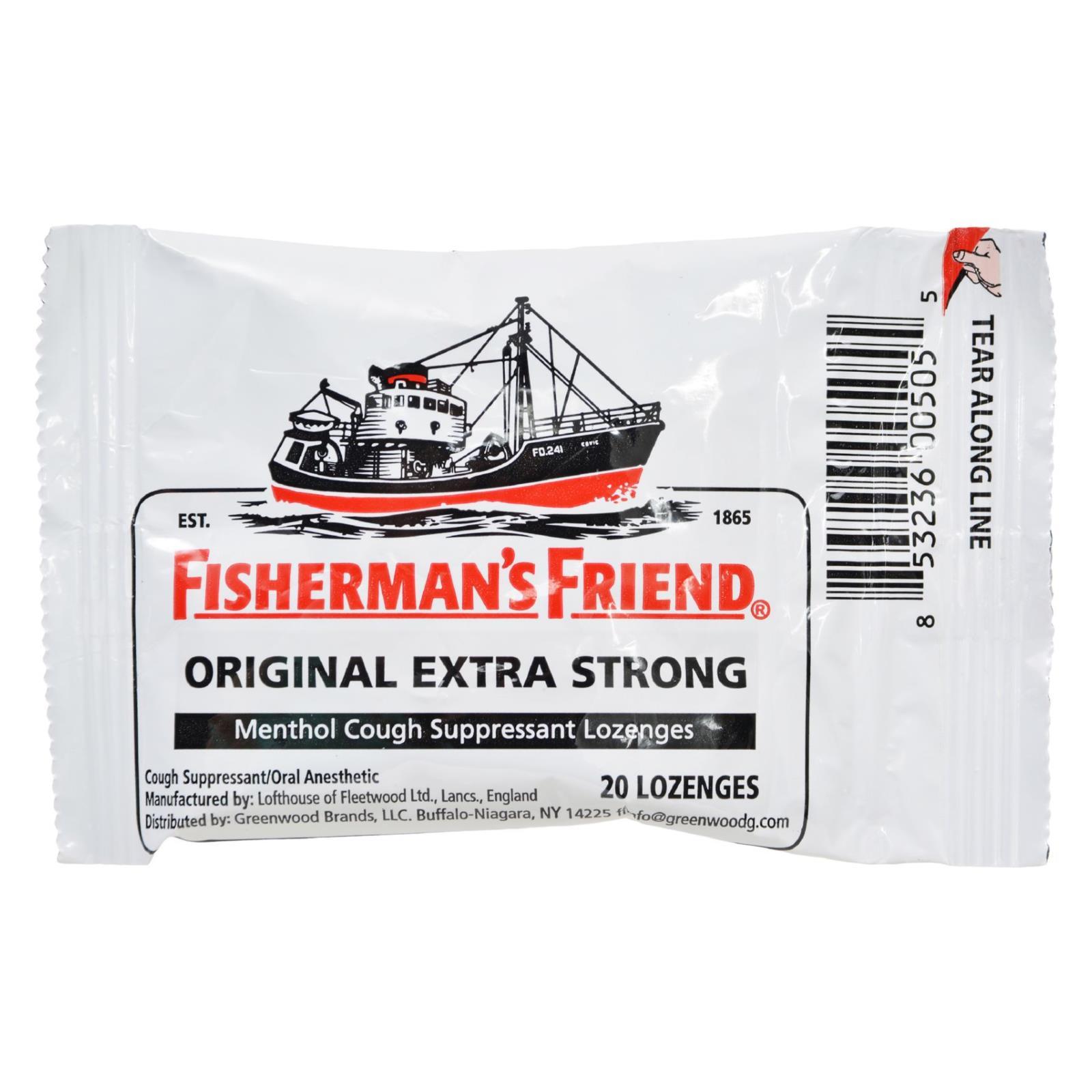 Fisherman's Friend Lozenges - Original Extra Strong - Dsp - 20 ct - 1 Case %count(alt)
