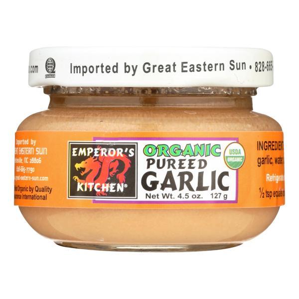 Emperor's Kitchen Organic Garlic - Pureed - Case of 12 - 4.5 oz. %count(alt)