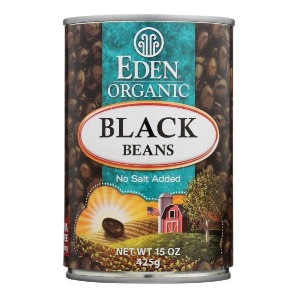 Eden Foods Organic Black Beans - Case of 12 - 15 oz. %count(alt)